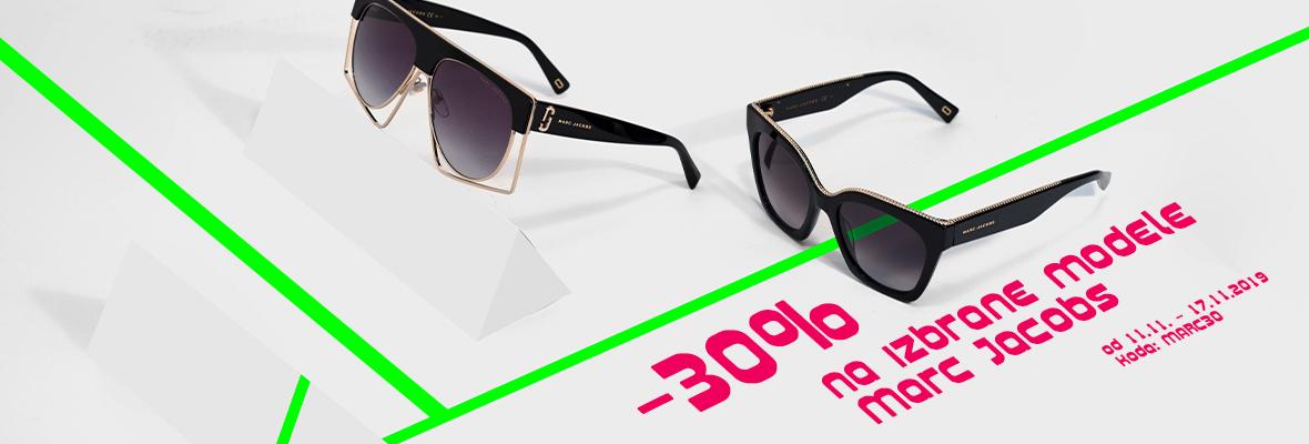 -30% na sončna očala Marc Jacobs
