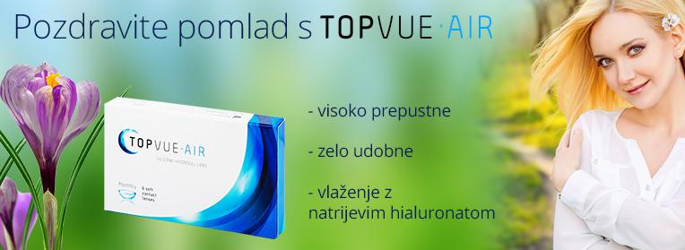 mesečne silikon hidrogel leče TopVue Air